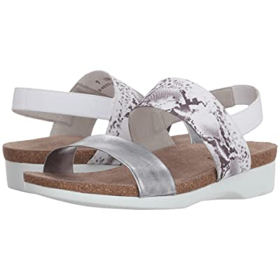 Munro Pisces (Silver Leather/White Snake Gore) Women