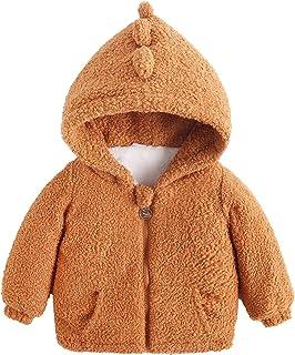Children Boys and Girls Hooded Jacket Long-Sleeved Solid kurtka zimowa zamek błyskawiczny Bear Ears Locker Candy Color Fla...