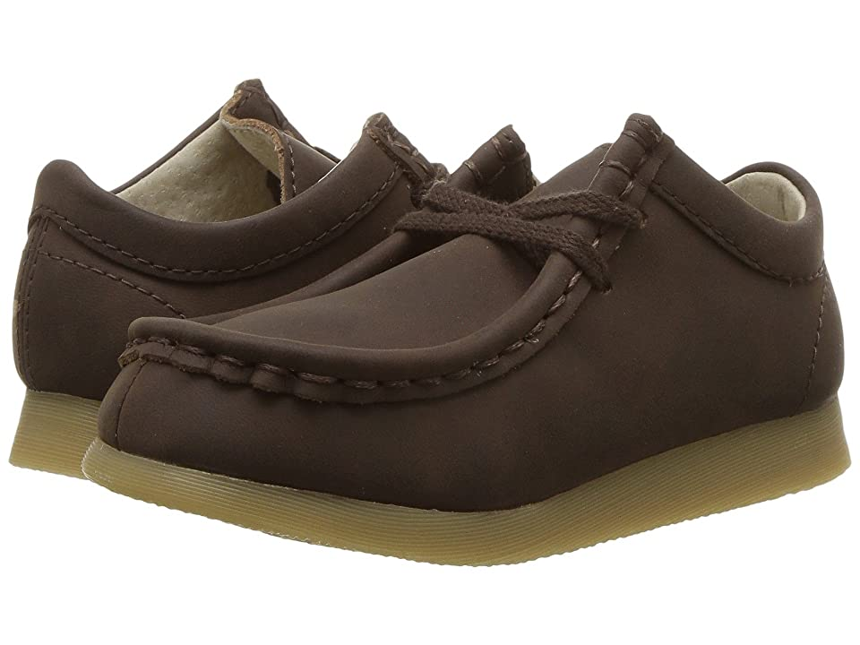 FootMates Wally-Low (Infant/Toddler/Little Kid) (Brown Oiled) Boys Shoes