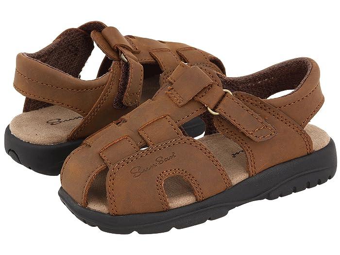 Salt Water Sandal by Hoy Shoes  Sun-San - Shark II (Toddler/Little Kid) (Brown) Boys Shoes