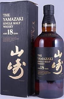 Yamazaki 18 Years Individual Numbered Bottling Japan Import Single Malt Whisky 43,0% Vol. - absolut seltene alte Abfüllung für den japanischen Markt!