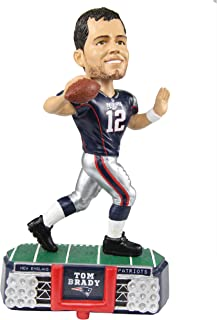 Forever Collectibles New England Patriots Tom Brady #12 Stadium Light Bobblehead