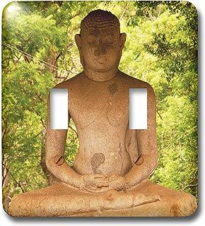 3dRose LSP_70821_2 Sri Lanka, Anuradhapura, estatua grande de Buda con interruptor de doble palanca