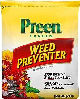 Preen 264107 Garden Weed Preventer – 13 lb. – Covers 2,080 sq. ft.