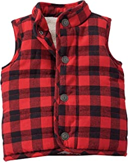 Mud Pie - Buffalo Check Vest (Infant/Toddler)