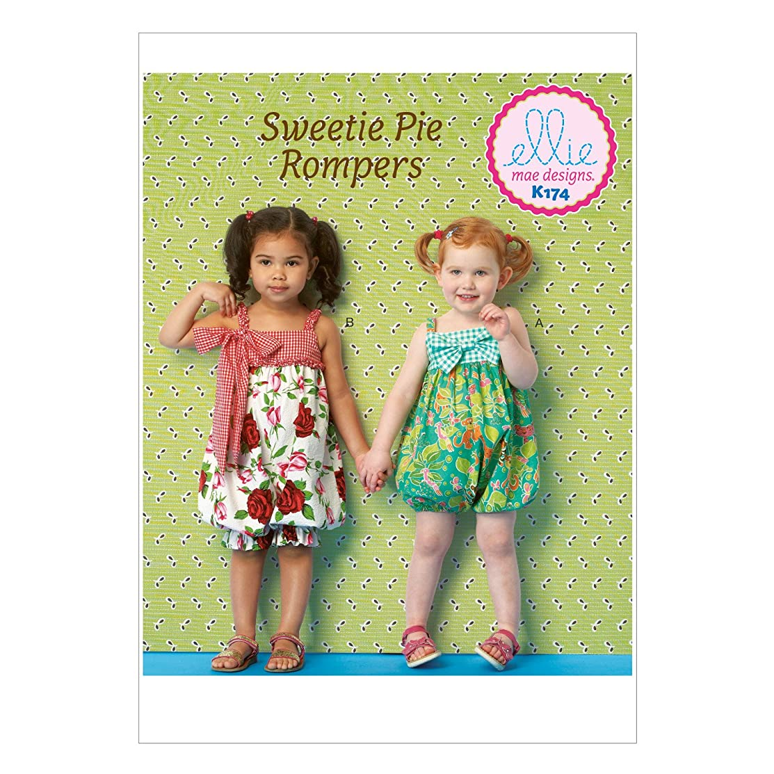 KWIK-SEW PATTERNS K0174 Toddlers' Rompers