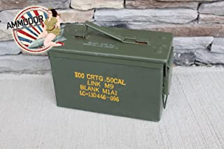 The 50 with Tray Ammodor tactical ammo can cigar humidor