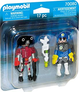 Playmobil 70080 Space Police Officer and Thief Duo Pack