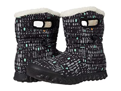 Bogs B-Moc Mid Windows (Black Multi) Women