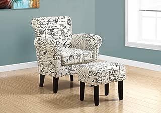 Monarch Specialties 8175 Accent Chair, Beige, 33