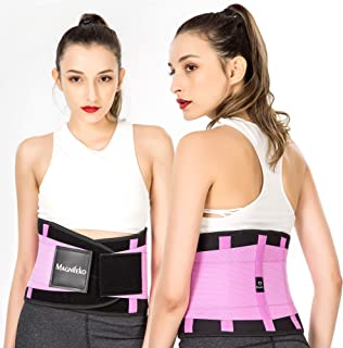 Waist Trainer Belt - Waist Back - for Lower Back Pain Support Braces for Lumbar Belt Body Shaper Belt Workout & Fitness