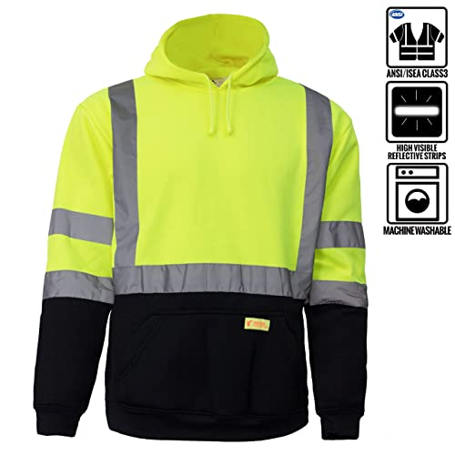 c72802c6 New York Hi-Viz Workwear H8312 Men's ANSI Class 3 High Visibility Class 3  Sweatshirt