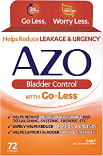 Sponsored Ad - AZO Bladder Control with Go-Less Daily Supplement | Helps Reduce Occasional Urgency* | Helps reduce occasio...