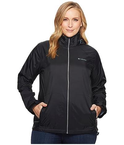 Columbia Plus Size Switchback III Jacket (Black) Women