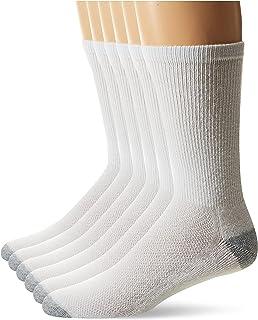 Hanes Men's 6-Pack FreshIQ Odor Control X-Temp Comfort Cool Crew Socks