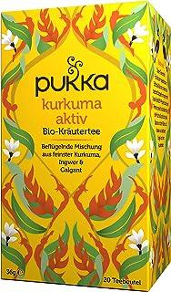 Pukka Bio-Tee Kurkuma Aktiv 80 Teebeutel, 4er Pack 4 x 20 beutel