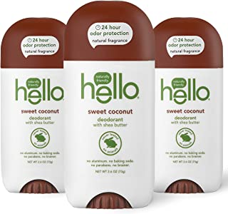 Sponsored Ad - hello Sweet Coconut Deodorant With Shea Butter for Women + Men, 24 Hour Odor Protection, No Aluminum + No B...