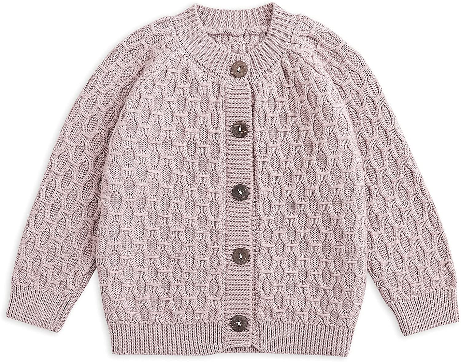 Simplee kids At the price Baby Sweater Cable Thick Knitting Cardi Unisex Ranking TOP5