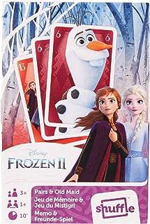 Frozen World Map II - Juegos de Cartas 2 en 1 (Pares y anciana Criada)
