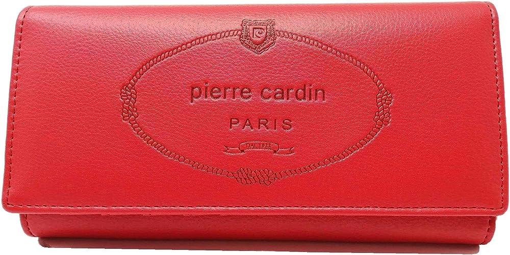 Pierre cardin portafoglio da donna rosso