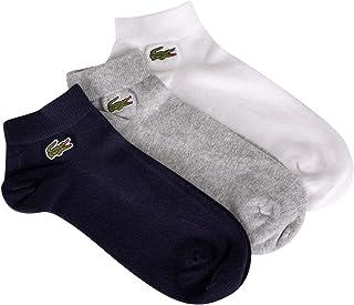 Lacoste Men's 3 Pack Sport Low Socks, Multicoloured, One Size