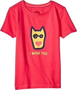 Life is Good Kids - I Woof You Crusher Tee (Toddler)