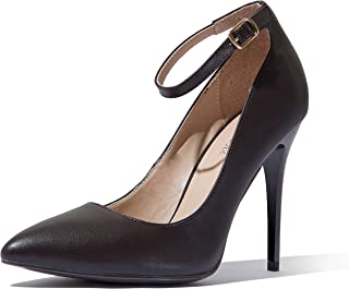 DailyShoes Women's Classic Fashion Stiletto Pointed Toe Paris-01 High Heel Dress Pump Shoes