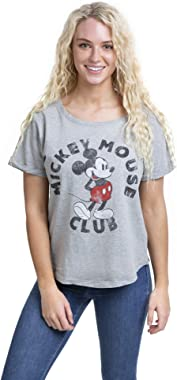 Disney Mickey Mouse Club T-Shirt Femme