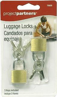 Project Partner 70609 Luggage Locks, 2-Pack