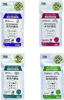 香りでごまかさない!本物の消臭剤 Tispa 4種セット