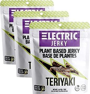 Electric Jerky 1.0 - Teriyaki - 3 Pack - Plant Based Vegan Jerky