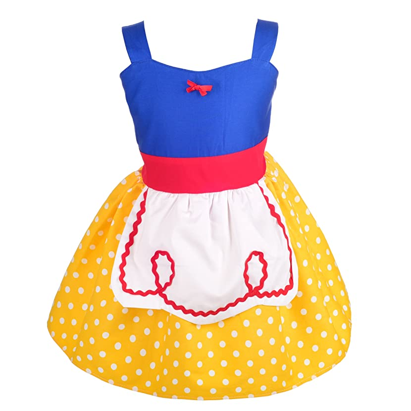 Dressy Daisy Princess Snow White Dress Alice Dress with Apron Summer Dresses for Baby & Toddler