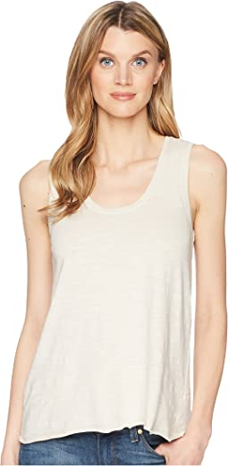 Seamed Scoop Tank Top