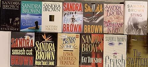 Sandra Brown Hardcover 14 Novel Lot