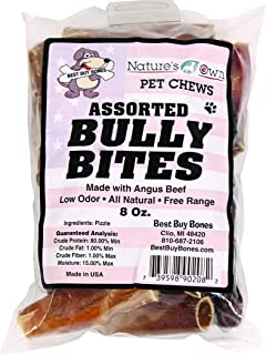 Best Buy Bones - USA Made Bully Bites, Healthy Pet Chews for Dogs