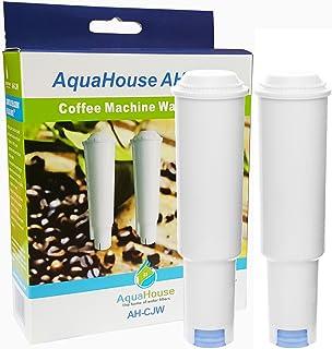 AquaHouse 2X AH-CJW Compatible pour Jura Claris White Filtre à Eau Cartouche Machine à café
