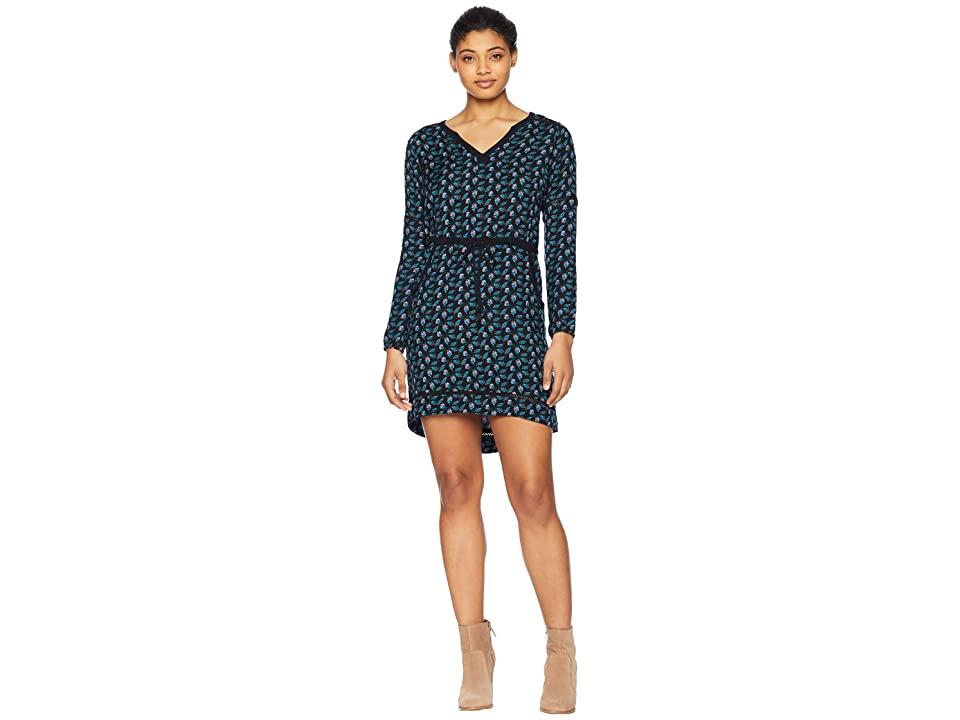 Mountain Khakis Harvest Dress (Black Print) Women