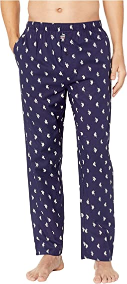 All Over Pony Woven Pants