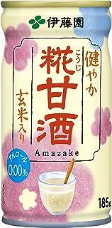 [旧品番] 伊藤園 健やか 糀甘酒 玄米入り (缶) 185g×30本