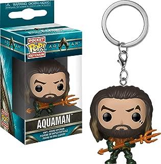 Funko 31191 Pop Keychain: Aquaman Movie - Arthur Curry As Gladiator Collectible Figure, Multicolor
