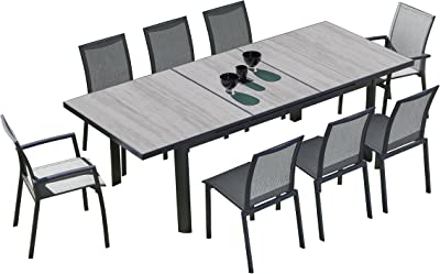 Silver Table Fixe 6 rectangulaire Personnes Hespéride Piazza zVqMpSU