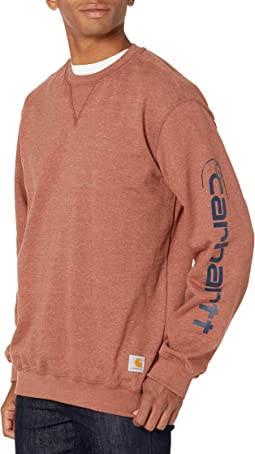 Loose Fit Midweight Crewneck Graphic Sweatshirt
