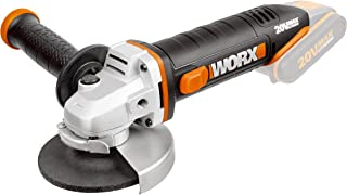 WORX WX800.9 18V (20V Max) Cordless 115mm Angle Grinder - Body Only