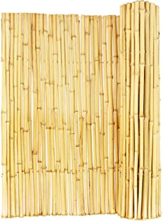 Backyard X-Scapes Natural Rolled Bamboo Fence .75in D x 4ft H x 8ft L