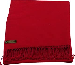 High Grade 100% Cashmere Shawl Hand Made in Nepal Pashmina Scarf Wrap Stole CJ Apparel NEW