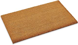 """Kempf Custom Cut 1/2"""" inch Thick Coco mat with Vinyl Backing, Great for recessed Area entrances (4' x 6')"""