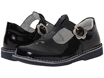Kid Express Molly (Toddler/Little Kid/Big Kid) (Navy Patent) Girls Shoes