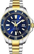 Stuhrling Original Watches for Men – Pro Diver Watch – Sports Watch for Men..