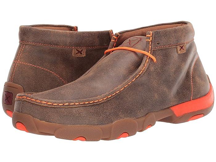 Twisted X  MDM0019 (Bomber/Neon Orange) Mens Boots
