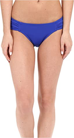 Illuminate Gathered Side Hipster Bikini Bottom